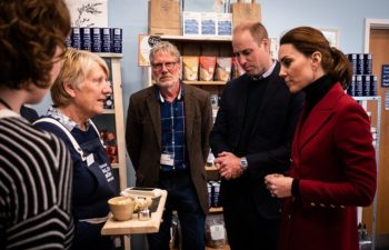 Duke and Duchess get a Taste of North Wales' Finest